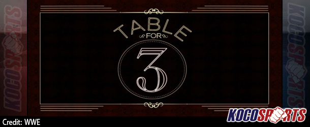 "Video: WWE Table for 3 – ""WCW Legends"" – 10/14/15 – (Full Show)"