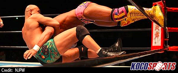 Tomoaki Honma suffers a potentially serious cervical vertebrae injury during NJPW event
