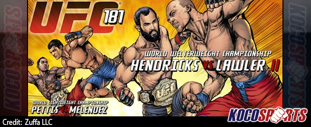 "Video: UFC 181 – ""Hendricks vs. Lawler 2"" – 12/06/14 – (Full Show)"