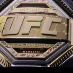 UFC unveils new world title belt design; belt to debut at UFC Brooklyn