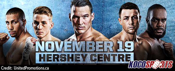 """United Promotions reveals promo for their """"Fight Night Live!"""" event on November 19th, produced by Kocosports"""