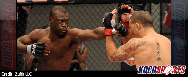 Uriah Hall faces newcomer Ron Stallings in Boston at UFC Fight Night