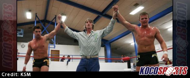 The Von Erichs will be joining Matthew Riddle at the WWE May tryout camp