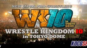 NJPW Wrestle Kingdom 10 results – 01/04/15 – (Okada beats Tanahashi to retain the IWGP title)