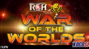 ROH / NJPW War of the Worlds results – 05/07/17 – (Omega & The Young Bucks victorious in main event)