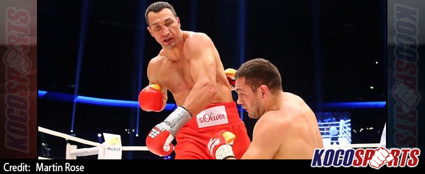 Wladimir Klitschko knocks out Kubrat Pulev in fifth round to retain titles