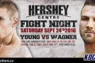 Young vs. Wagner for the Canadian Super Welterweight Crown this Saturday, Sept 24th in Mississauga