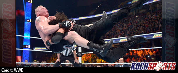 WWE Fastlane results – 02/21/16 – (Roman Reigns victorious over Brock Lesnar and Dean Ambrose)
