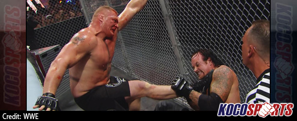 WWE Hell in a Cell results – 10/25/15 – (Lesnar defeats Taker; Del Rio returns to claim US title!)