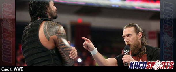 WWE Monday Night Raw results – 02/09/15 – (The Authority pits Bryan against Reigns; Rusev takes the fight to Cena)