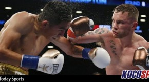 Ireland's Carl Frampton defeats Leo Santa Cruz in a savage showdown for the WBA featherweight title