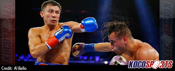 Gennady Golovkin dominates David Lemieux on route to an 8th round victory at Madison Square Garden