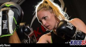 "Pro boxer, Heather ""The Heat"" Hardy, set to make her pro MMA debut at Bellator 180"