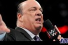 Paul Heyman issues a challenge for Bill Goldberg to fight Brock Lesnar anyplace, anywhere, anytime