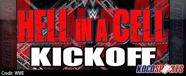 """Video: WWE Hell in a Cell – """"Kickoff"""" – 10/26/14 – (Full Show)"""