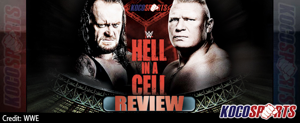 "Podcast: Koco's Corner – ""WWE Hell in a Cell"" Review – 10/25/15 – (Lesnar vs. Taker; Del Rio Returns)"