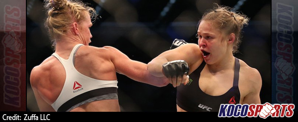 Ronda Rousey says Holly Holm's kick has left her with a mouth injury and unstable teeth