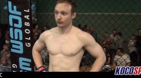Video: WWE Cruiserweight Division star Jack Gallagher wins his first MMA fight via submission