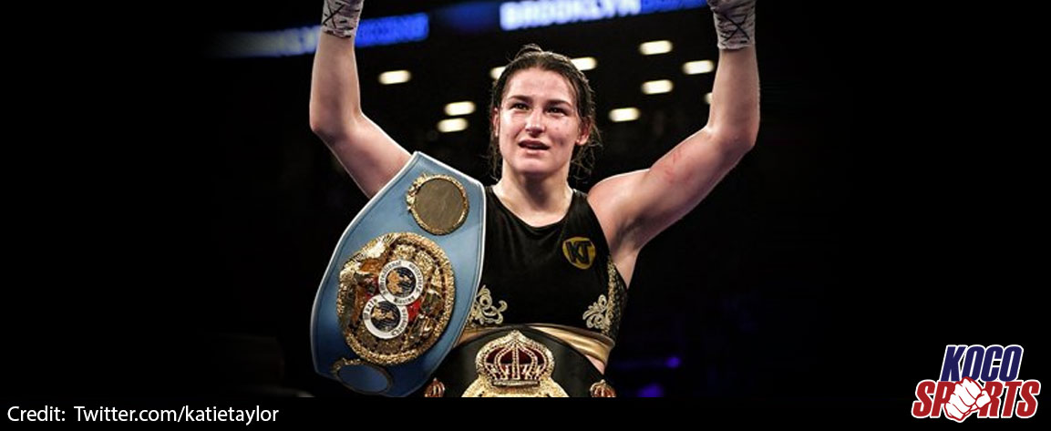 Ireland's Katie Taylor set to fight Rose Volante in unification bout in March