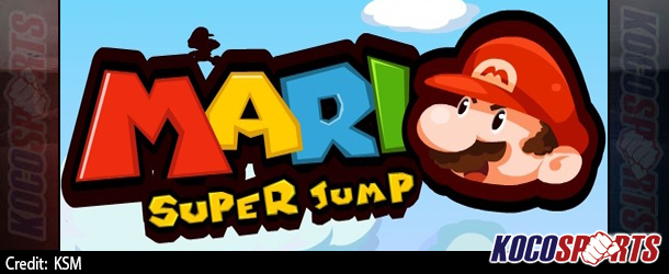 Max Arcade: Mario Super Jump – (Flash Game)