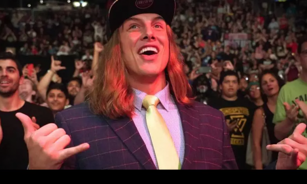WWE officially announces the signing of former UFC star, Matt Riddle, to the NXT division
