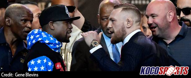 Video: Full coverage of the Floyd Mayweather vs. Conor McGregor press conference