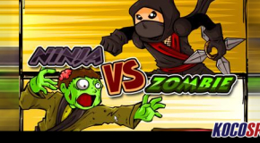 Combat Sports Arcade: Ninja vs. Zombie – (Flash Game)