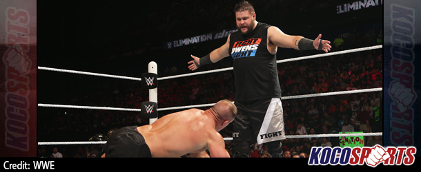 WWE Elimination Chamber results – 05/31/15 – (Owens beats Cena; Ambrose absconds with Title!)
