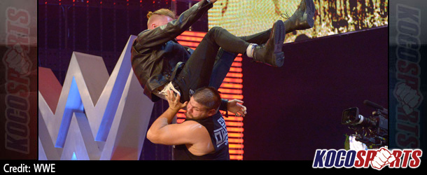 WWE NXT champion, Kevin Owens, issues public apology for attack on hip-hop star Machine Gun Kelly