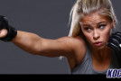 UFC's Paige VanZant is back in the gym and says she is learning from her first loss in the Octagon