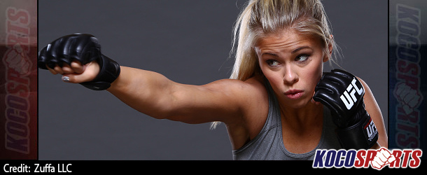 UFC plan to make Paige VanZant a major star; VanZant says she will toe the company line do whatever the UFC tells her