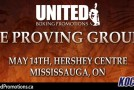 "United Promotions reveals promo video for ""The Proving Ground"" event on May 14th, produced by Kocosports"