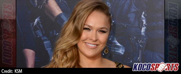 "UFC's Ronda Rousey joins the likes of Taylor Swift and Jessica Alba on Fortune's ""40 Under 40"" list"