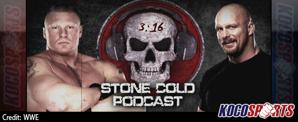 Video: WWE Stone Cold Podcast – Interview with Brock Lesnar – 10/19/15 – (Full Show)