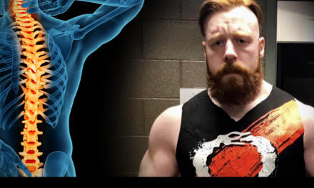 Sheamus O'Shaunessy suffering with spinal stenosis; will still continue to compete
