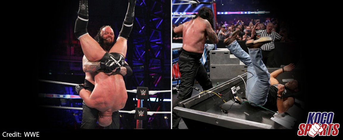 WWE Super Show-Down results – 06/10/18 – (Brothers of Destruction assault on Triple H & HBK)