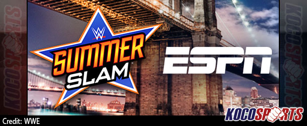 """ESPN SportsCenter to  broadcast live from WWE SummerSlam this Sunday; show to feature a football style """"game day"""" atmosphere"""