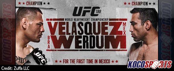 "Video: UFC 188 – ""Velasquez vs. Werdum"" – 06/13/15 – (Full Show)"