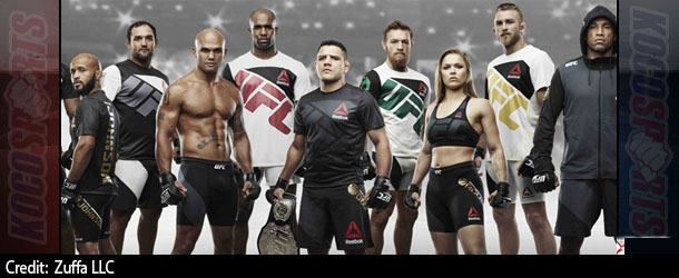 """Video: Reebok reveals the new UFC """"fight kit"""" uniforms and gear; Dana White claims fighter reaction has been very positive"""