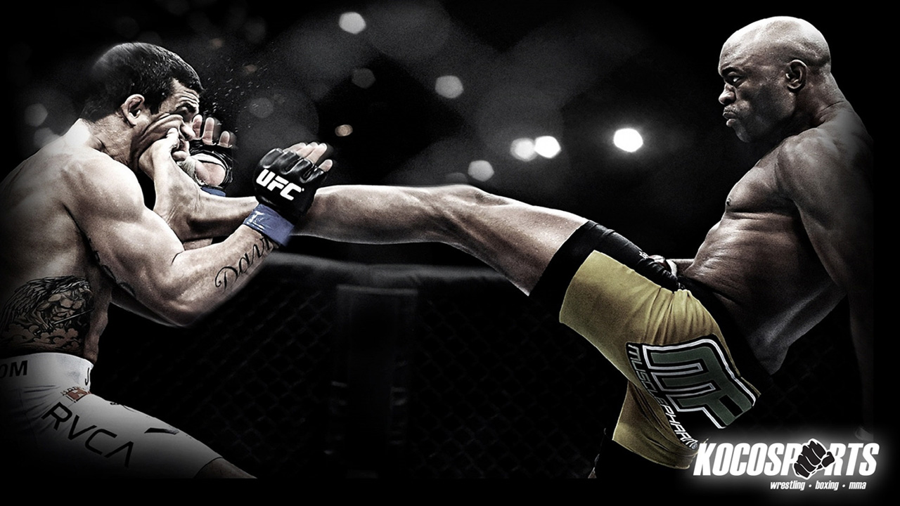UFC Kick In The Face – Wallpaper