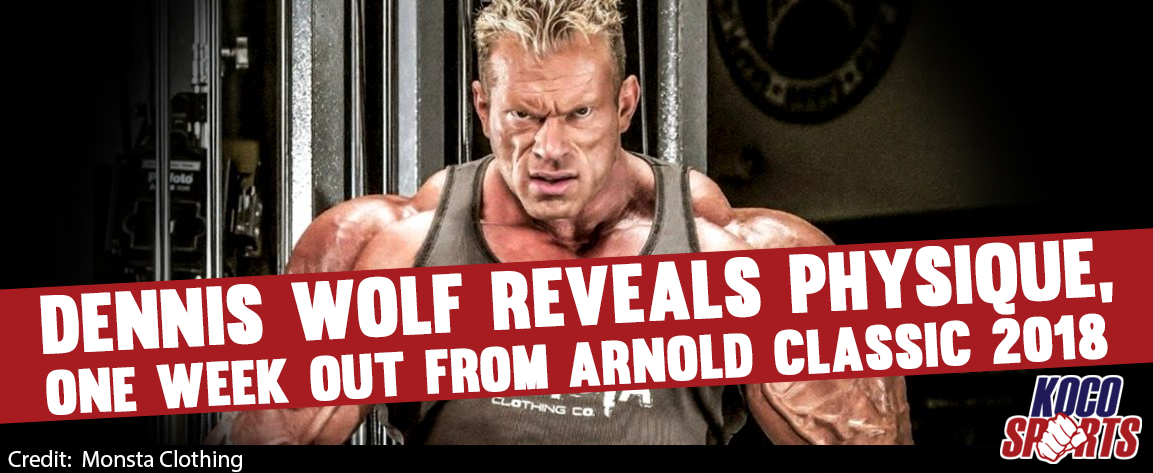 Video: Dennis Wolf reveals physique a week out from the 2018 Arnold Classic